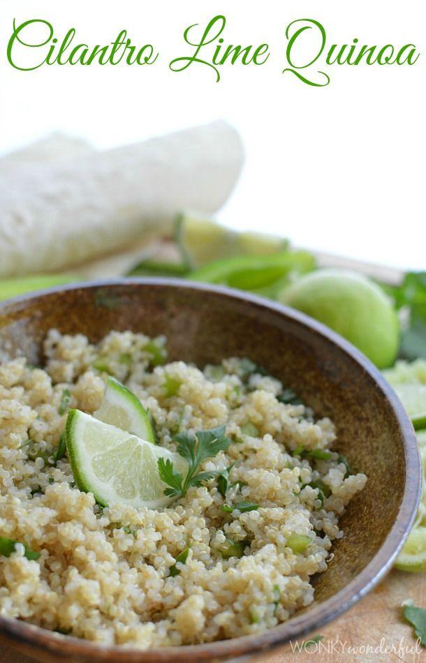 Cilantro Lime Quinoa | Recipe | Gluten free brands ...