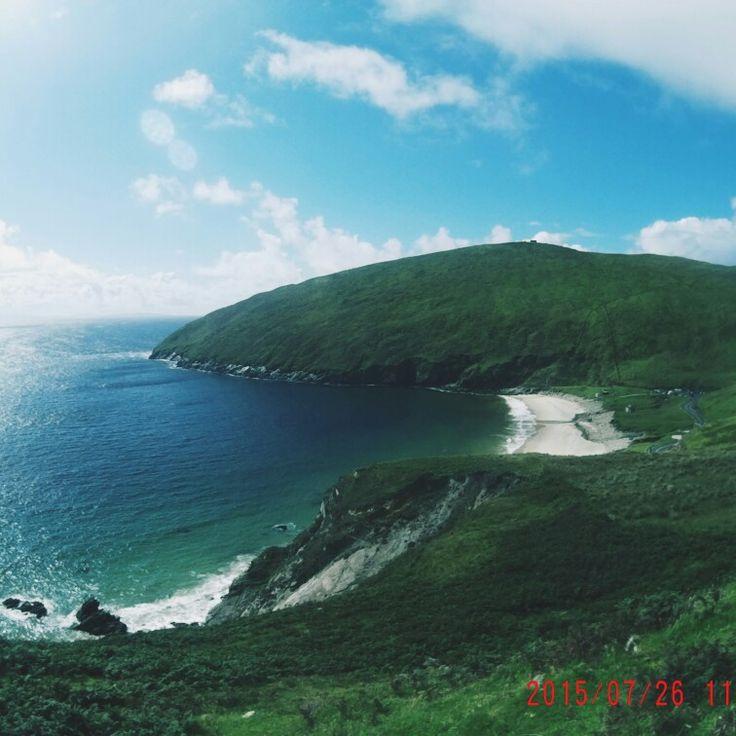 Achill Island , keem bay beach, mayo, ireland