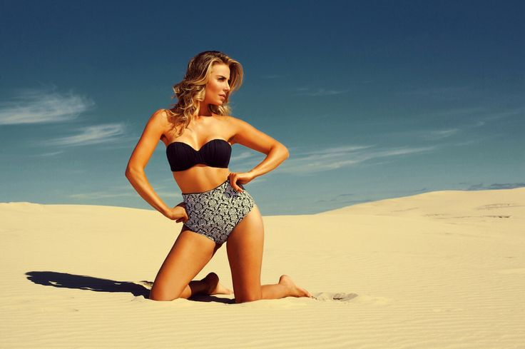 Summer sand sun and bikini. Hot pant to impress. Posh bikini for fancy girls