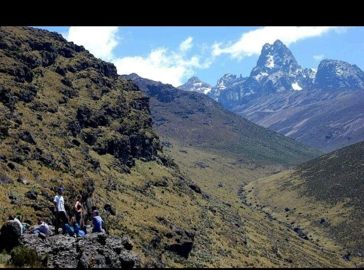 I Can See U Mount Kenya Day Hike Kenya