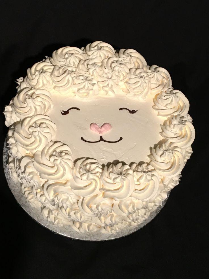 Little Lamb cake for Easter!