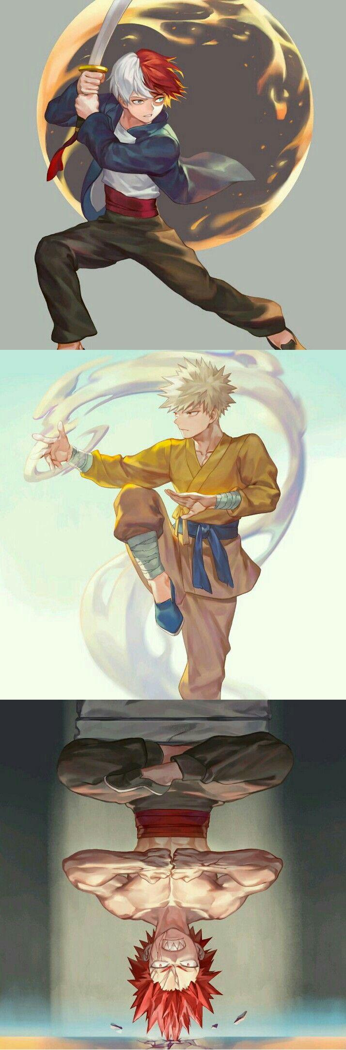 Boku no Hero Academia || #mha << I sense Avatar: The Last Airbender Radiating from here