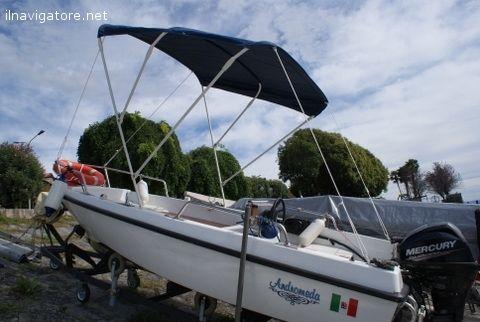 Barca #Attilio Sessa mt. 4, con #attrezzatura #nautica #completa, 4 #posti, #carrello per #alaggio, #tendalino, #cuscineria in #ordine. #Motore nuovo ... #annunci #nautica #barche #ilnavigatore