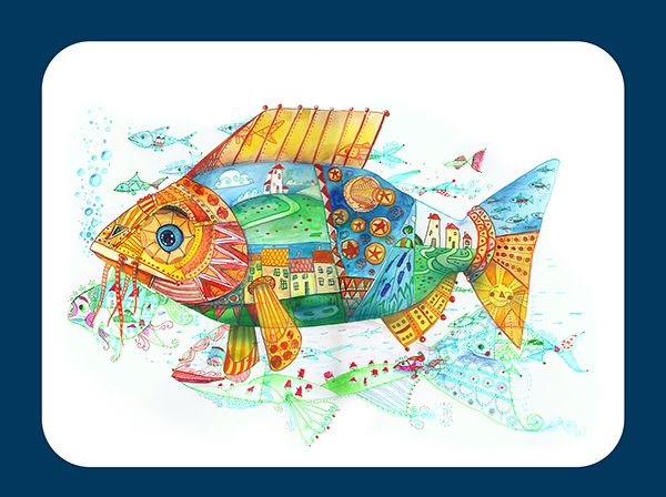 Memory Fishes on Behance