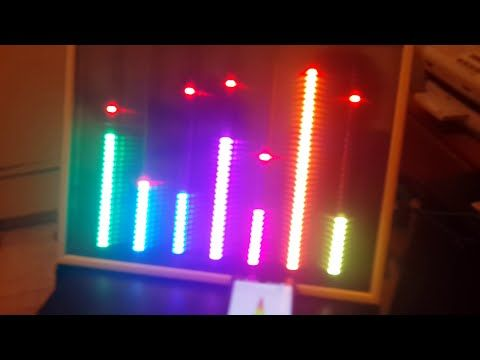This is a project of an Equalizer Display, with MSGEQ7 chip