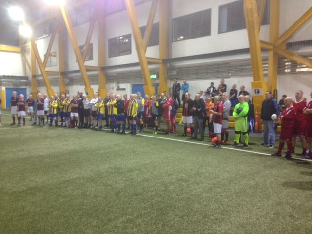 Latest news Hearts 56 win inaugural Scottish Walking Football League after dramatic final day