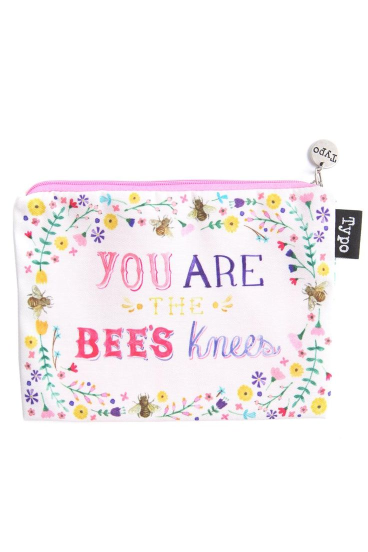 you are the bees knees // le mental case | Cotton typo design supply studio school office