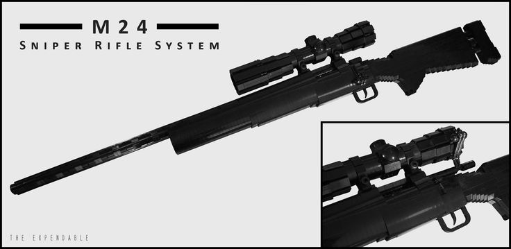 how to make a paper sniper rifle instructions