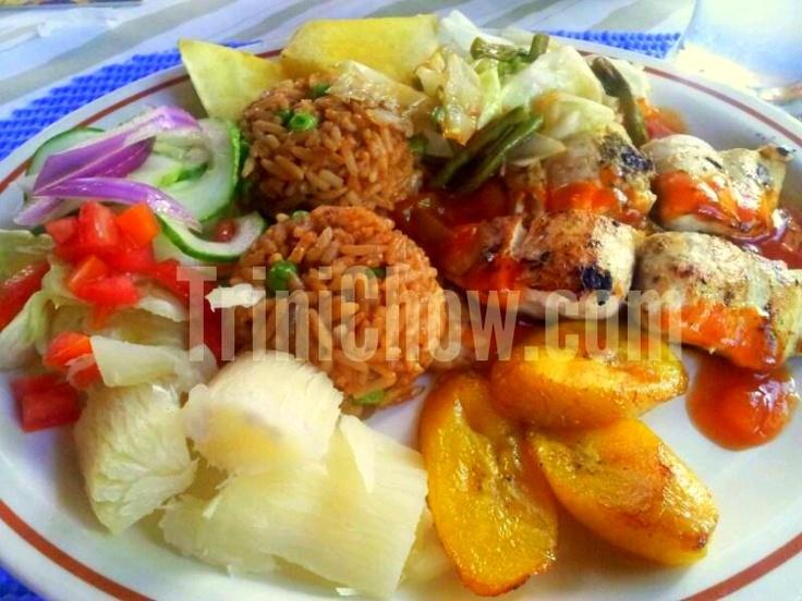 Lunch at Blue Crab Restaurant in Tobago