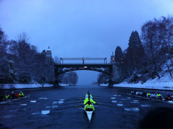 rowing...any temperature...any conditions...love it