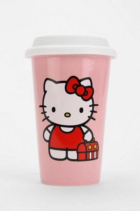 Termo para café de Hello Kitty