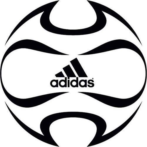 adidas ball logo vector