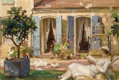 Dupuy, Paul Michel (1869-1949) La lecture