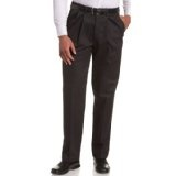 Haggar Men's Work To Weekend No Iron Twill Pleat Front Pant (Apparel)By Haggar