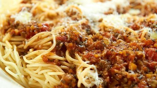 Vegetarische Bolognese (Tim Mälzer) aus Champignons + Gemüse