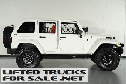 2013 Lifted Jeep Wrangler Unlimited Kevlar Coated Custom Leather