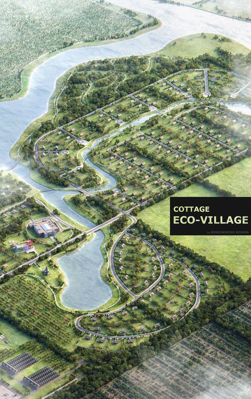 Eco-Village on Behance