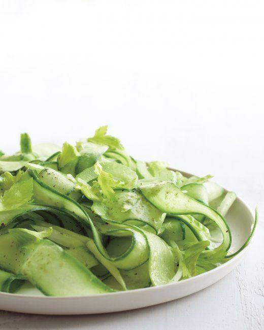 Shaved Cucumber Salad Recipe