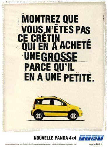 Rappelez-vous (avec humour) cette campagne #FIAT signée #LeoBurnett en 2004 !