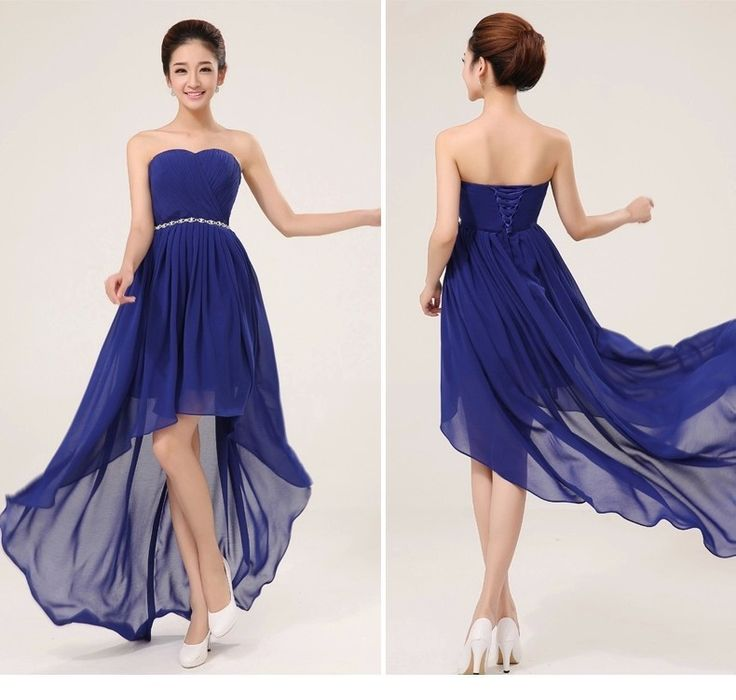 25 best ideas about royal blue dresses on pinterest for Royal blue wedding dresses cheap