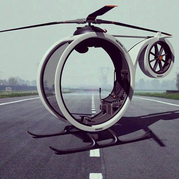 Interesting engineering | One person helicopter prototype