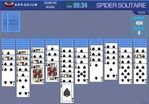 Solitario Spider Gratis - Solitario Spider Arkadium
