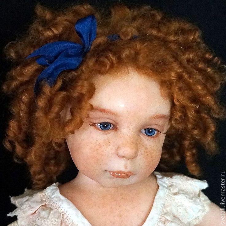 Купить РЫЖИЙ РЕБЕНОК 44 см - рыжий, авторская кукла, куклы-дети, светлана гришко