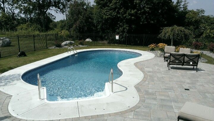 swimming pool in ground swimming pools built by. Black Bedroom Furniture Sets. Home Design Ideas