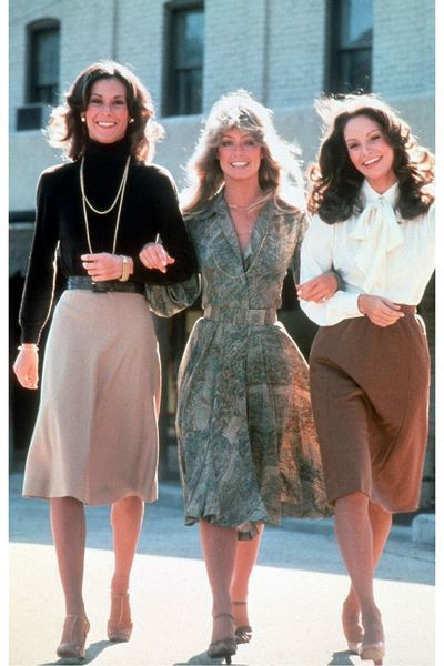 "I still don't understand how, but yes, little girls in the 70's were given female empowerment by the always giggly Jill, Kelly, and Sabrina. ""This is the story of three little girls..."""