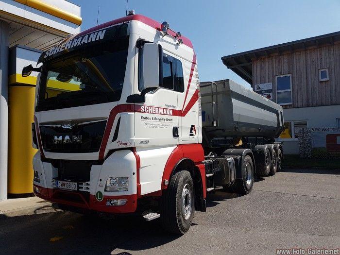 Fa Schermann Erdbau&Recycling MAN Tgx 560