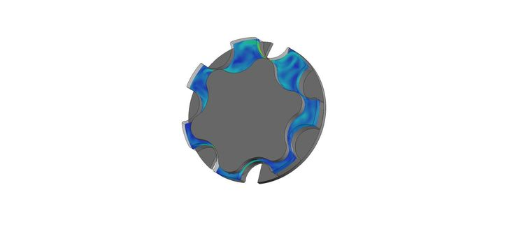 Scale Adaptive Simulation of Gear Pump free download simulation files here: http://fetchcfd.com/view-project/585