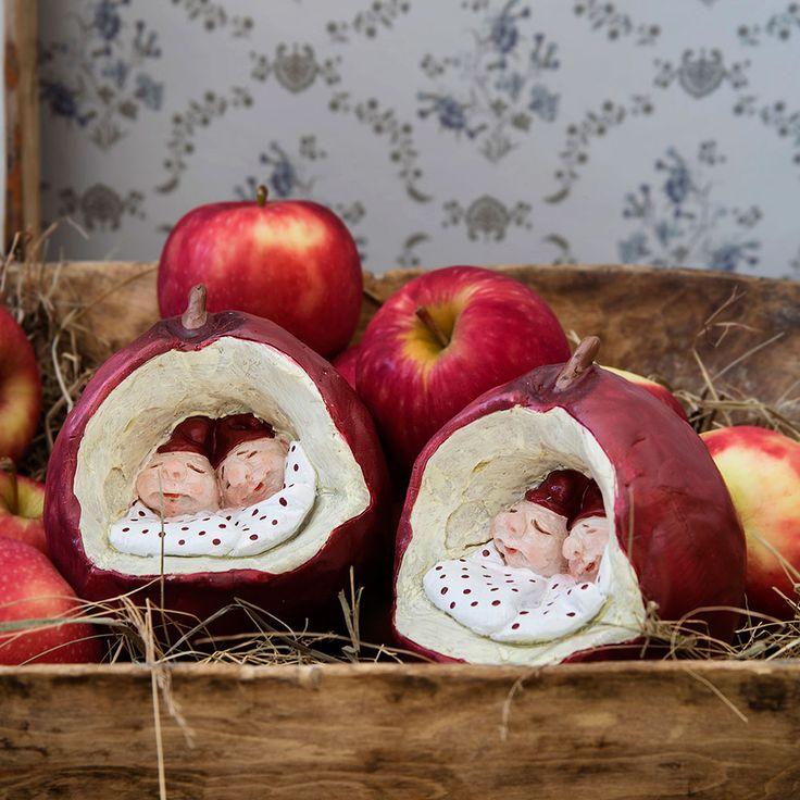 Apple Houses <3 #MedusaCopenhagen #ChristmasDecor