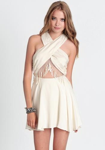 Chelsea Dress By For Love & Lemons 202.00 at threadsence.com