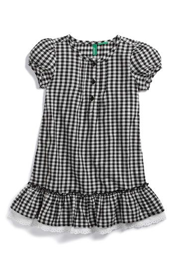 United Colors of Benetton Kids Plaid Dress. So cute for my friends' kids!