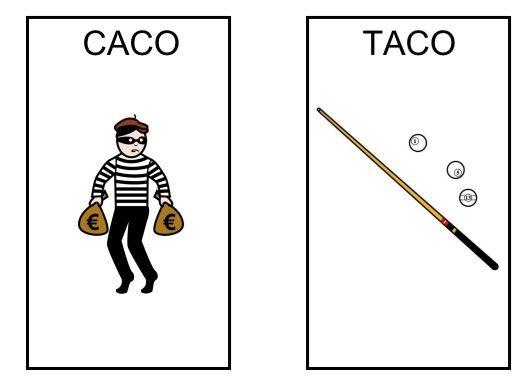¿Caco? ¿taco? Oposiciones fonológicas K/T