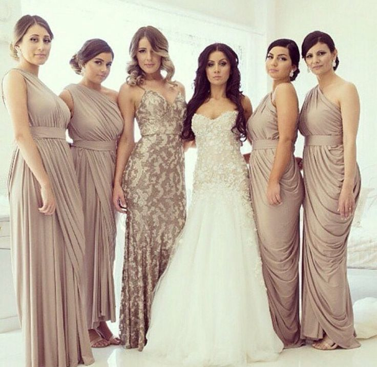 Love This Different Dress Idea For The Maid Of Honor