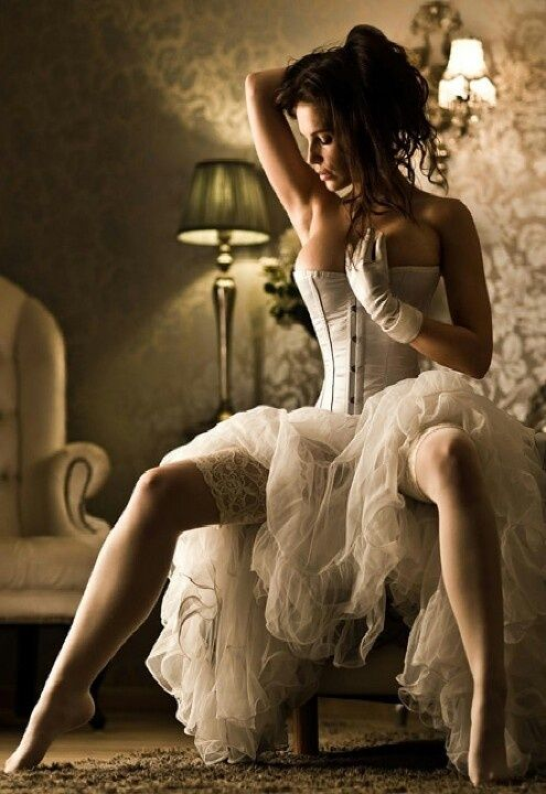 I'd recreate this scene for a boudoir pic for hubby...or just for myself to look back on when I'm old.