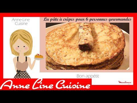 Crêpes [Soup & co] - YouTube   Crepes pour 6 personnes
