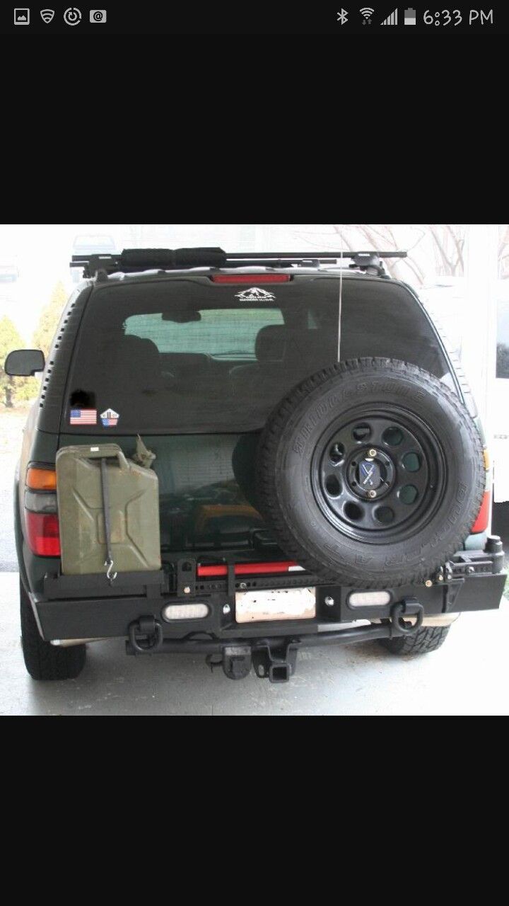 2002 tahoe expeditionary vehicle under construction expedition portal