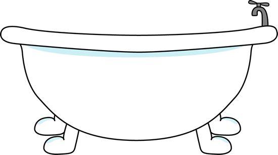 Bathtub Clipart Bathtub Clip Art Image Large With Bathtub With A