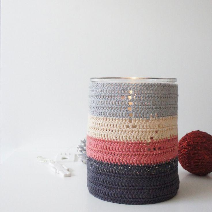 Hæklet adventslysestage // crochet for christmas