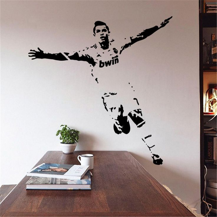 sports cafe soccer decoration wallpaper prints - Google Search