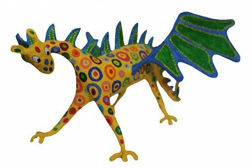 ¿Buscas como hacer un alebrije dragon? Sigue los pasos ilustrados de nuestro tutorial que te ayudaran a conseguir tu figura ¡Crea ahora!