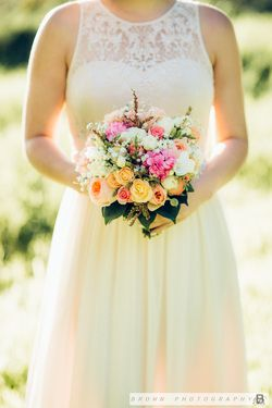 brown photography. flowers by sweet pea florist