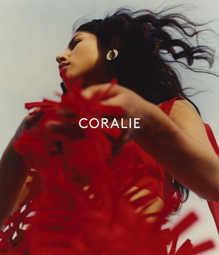 Coralie Marabelle SS17 Campaign shot by Chloé Le Drezen Model Maéva Prigent Styling Nicole Walker Hair Delphine Bonnet Make-up Fanny Renaud