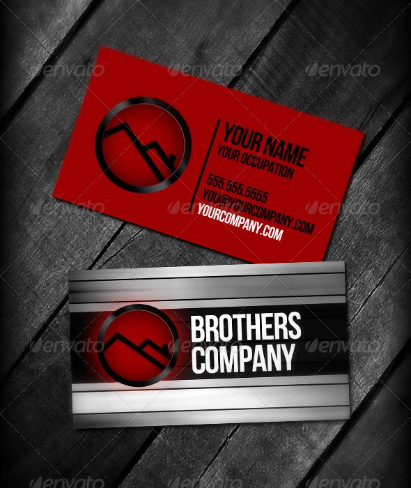 99 best images about print templates on pinterest fonts for Brother business card templates