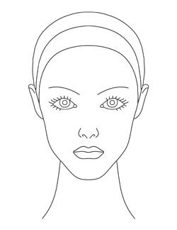 makeup design templates for kids  or adults    google