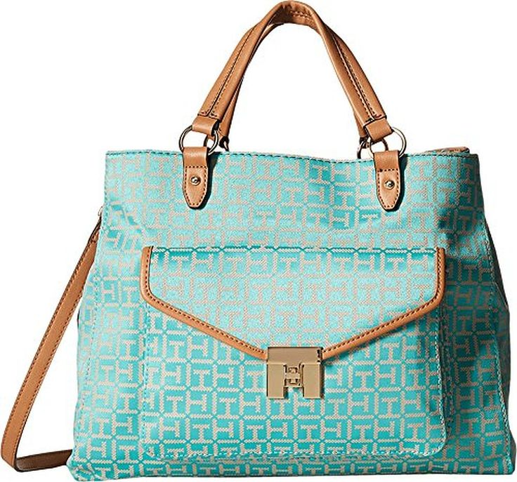 Tommy Hilfiger Women's TH Turnlock Convertible Shopper
