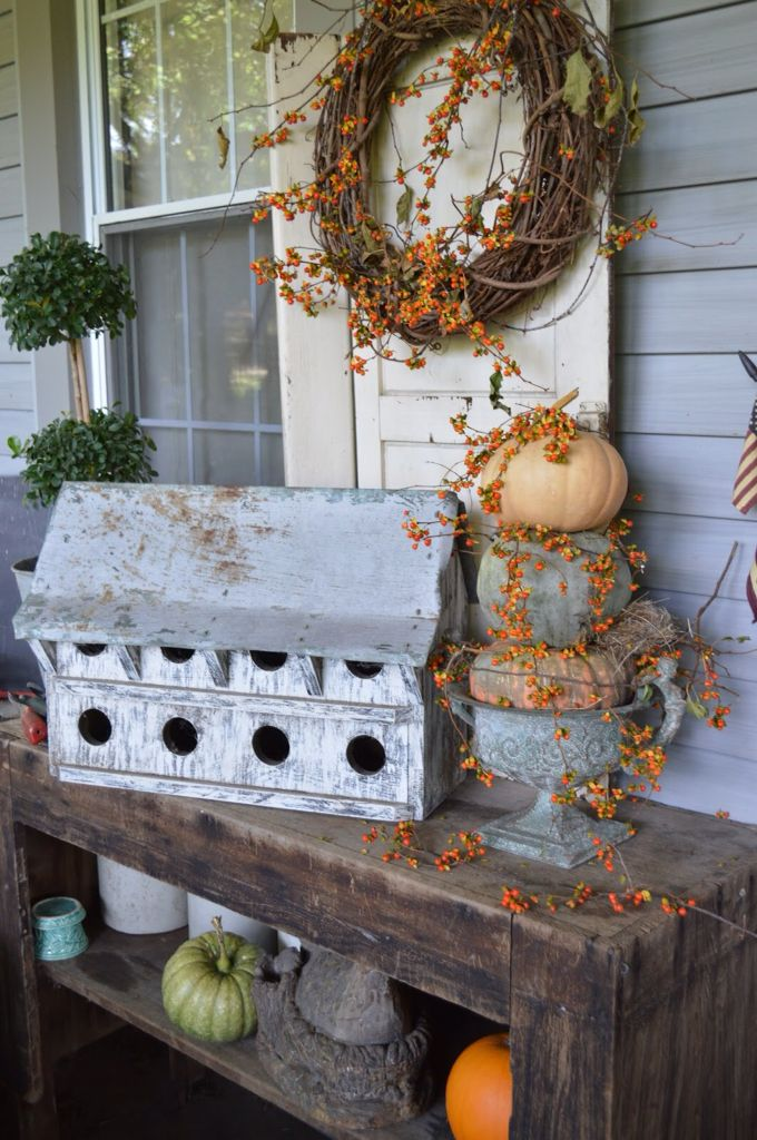Primitive fall for the porch..                                                                                                                                                     More