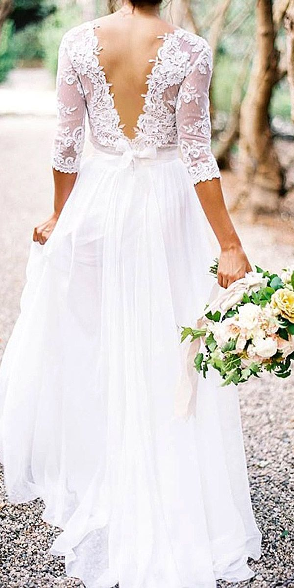 Bridal Inspiration: Rustic Wedding Dresses ❤ See more: http://www.weddingforward.com/rustic-wedding-dresses/ #wedding #dressess #rustic